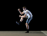 Russian Ballet Icons Gala 2015 <br /> at the London Coliseum, London, Great Britain <br /> 8th March 2015 <br /> rehearsals <br /> <br /> Xander Parish in  <br /> Ballet 101 <br /> music by Jens-Peter Abele <br /> choreography by Eric Gauthier <br /> <br /> <br /> Photograph by Elliott Franks <br /> Image licensed to Elliott Franks Photography Services