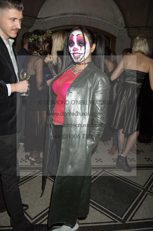 VENUS X at the Veuve Clicquot Widow Series launch party hosted by Nick Knight and Jo Thornton MD Moet Hennessy UK held at The College, Central St.Martins, 12-42 Southampton Row, London on 29th October 2015.