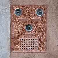 Door bell detail, Venice, Italy.