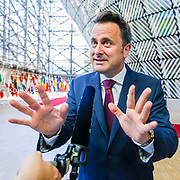 European Summit meeting of the EU heads of states and governments at the European Council headquarters . arrival at the European Council.<br /> Pix : Xavier Bettel