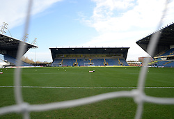 View inside Kassam Stadium - Mandatory byline: Alex James/JMP - 10/01/2016 - FOOTBALL - Kassam Stadium - Oxford, England - Oxford United v Swansea City - FA Cup Third Round
