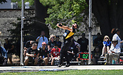 Patrick Kunza (736) of Missouri throws in the hammer during the NCAA West Track & Field Preliminary, Thursday, May23, 2019, in Sacramento, Calif.