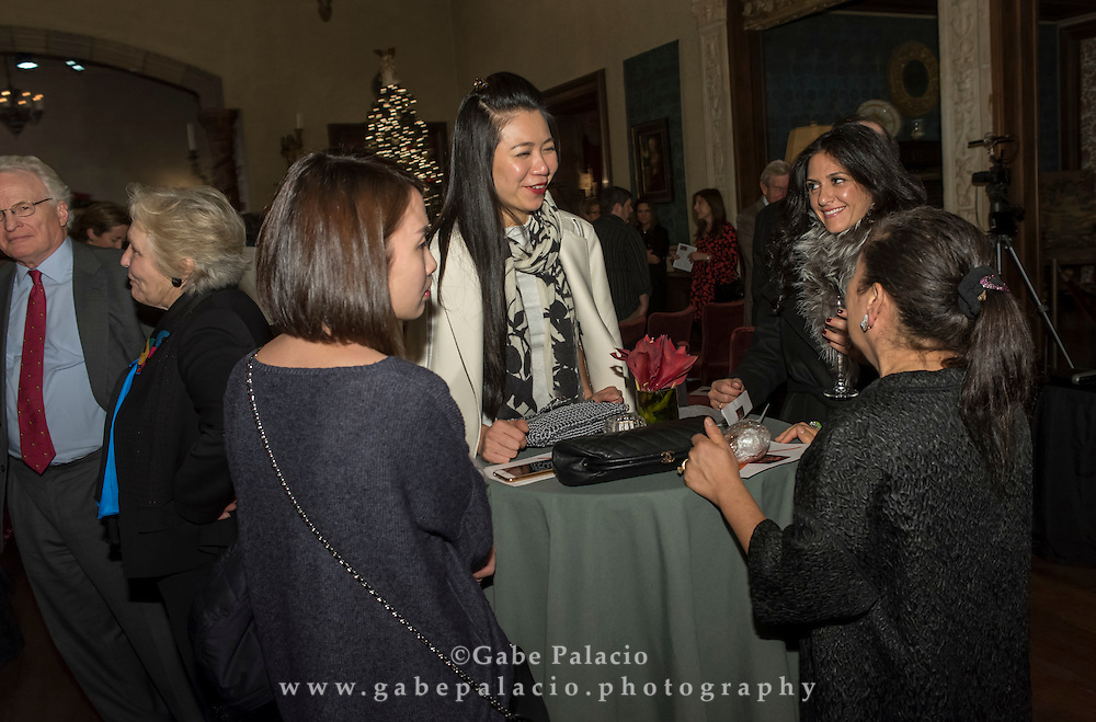 American Roots Music Fall Benefit Concert<br /> performance by I'm With Her, featuring Sara Watkins, Sarah Jarosz, Aoife O'Donovan, in the Music Room of the Rosen House at Caramoor in Katonah New York on December 3, 2016. <br /> (photo by Gabe Palacio)