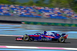 June 22, 2018 - Le Castellet, Var, France - Toro Rosso Driver BRENDON HARTLEY (GBR) in action during the Formula one French Grand Prix at the Paul Ricard circuit at Le Castellet - France (Credit Image: © Pierre Stevenin via ZUMA Wire)