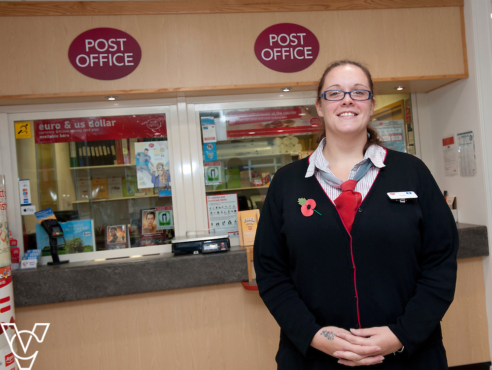 Pictured is Angela Shaw from the Post Office which is based inside the Lincolnshire Co-operative Pharmacy<br /> <br /> Official re-opening of the refurbished Washingborough Food Store and precinct, which includes the Co-op Pharmacy.<br /> <br /> Date: October 30, 2015<br /> Picture: Chris Vaughan/Chris Vaughan Photography