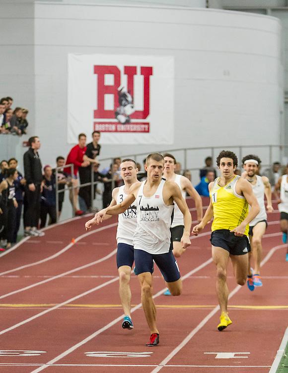 BU Valentine Indoor track & field: