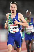 Julien Wanders (SUI) places sixth in the 10,000m in 27:44.36 during the Bauhaus-Galan in a IAAF Diamond League meet at Stockholm Stadium in Stockholm, Sweden on Thursday, May 30, 2019. (Jiro Mochizuki/Image of Sport)