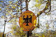 Germany. The closed state border in between Germany and Czech Republic at the city of Bayerisch Einsenstein after the corona virus outbreak changed our public lifes. Czech Republic is in the state of emergency and just their own citizens or foreigners with a residence permit are allowed to enter.