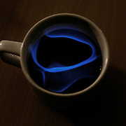 If the Karsk (spirit mixed with hot coffee) gets too strong, it is possible to decrease the alcohol concentration by igniting the vapour from the surface with a cigarette or a match.
