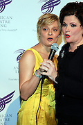 "Martha Plimpton and Faith Prince at The American Theater Wing's Annual Spring Gala Honoring Jerry Herman and Visa INC...The American Theatre Wing is best known as the creator of the Antoinette Perry ""Tony"" Awards, which it presents annually with the Brodway League. The Wing's other activities, dedicated to recognizing excellence and supporting eductaion in theatre."