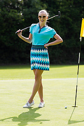 Repro Free: 24/06/2013 Model Sarah Morrissey looked like pros today in The Burrow Golf Course, Stepaside, Dublin 18 as she showcased the best in designer golf apparel from labels-for-less retailer TK Maxx. Offering contemporary golf wear that combines style, tailoring and performance for golfers to sport on and off the course, TK Maxx Ireland has everything you need before teeing off all with up to 60% off the RRP. For more information, visit www.tkmaxx.ie or find them on Facebook. Picture Andres Poveda<br /> <br /> Dress ?19.99<br /> Shoes ?39.99<br /> Sunglasses ?34.99