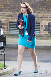 Downing Street, London, October 11th 2016. Government ministers arrive for the first post-conference cabinet meeting. PICTURED: Leader of the House of Lords Baroness Evans