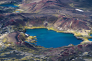 Veiðivötn is a large lake area.
