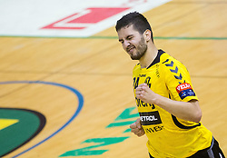 Mario Sostaric of Gorenje during handball match between RK Gorenje Velenje and RK Celje Pivovarna Lasko in Final match of 1st NLB League - Slovenian Championship 2013/14 on May 23, 2014 in Rdeca dvorana, Velenje, Slovenia. Photo by Vid Ponikvar / Sportida