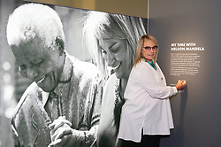 © Licensed to London News Pictures. 07/02/2019. London, UK. Zelda La Grangem the former personal secretary of Nelson Mandela attends a photocall to launch Mandela:The Exhibition takes visitors on a personal journey through the life of the world's most iconic freedom fighter and political leader. Photo credit: Ray Tang/LNP