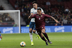 March 22, 2019 - Madrid, Spain - Venezuela's Darwin Machis during International Adidas Cup match between Argentina and Venezuela at Wanda Metropolitano Stadium. (Credit Image: © Legan P. Mace/SOPA Images via ZUMA Wire)