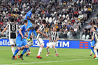 Gol Kalidou Koulibaly Napoli. Goal celebration <br /> Torino 22-04-2018 Allianz Stadium Football Calcio Serie A 2017/2018 Juventus - Napoli Foto Andrea Staccioli / Insidefoto