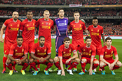 © Licensed to London News Pictures. 24/7/2013. Liverpool team photo during the Melbourne Victory Vs Liverpool F.C at the Melbourne Cricket Ground, Melbourne, Australia. Photo credit : Asanka Brendon Ratnayake/LNP