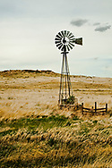Windmill, west of Pleyna, Montana, Spring