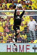 John Ruddy of Norwich in action during the Barclays Premier League match at Carrow Road Stadium, Norwich, Norfolk...Picture by Paul Chesterton/Focus Images Ltd.  07904 640267.21/8/11