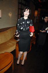 Singer SOPHIE ELLIS-BEXTOR at a party to celebrate the launch of Cavalli Selection - the first ever wine from Casa Cavalli, held at 17 Berkeley Street, London W1 on 29th May 2008.<br />