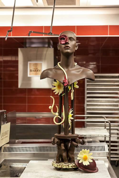 Show piece: Naomi Elsier. Cacao-Barry Callebaut Canadian Intercollegiate Chocolate Competition April 21 - 22, 2012.