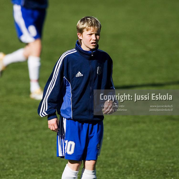 Alexander Ring. U16-maajoukkue (s. 1991-), Eerikkilä, 18.4.2007. Photo: Jussi Eskola