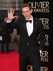 TOM HIDDLESTON attends The Laurence Olivier Awards at the Royal Opera House, London, United Kingdom. Sunday, 13th April 2014. Picture by i-Images