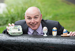 Repro Free:<br /> John Mohan, Director, Greenfield Foods is pictured at the launch of Ballyfree Free Range Eggs &ldquo;Shrinkies&rdquo;. A unique little cartoon character sleeve the fits onto an egg and shrinks onto it while boiling, making the humble egg a bit more exciting for small people.  <br />  <br /> Eggs are one of the few grocery categories that have enjoyed steady growth over the last few years with sales increased by +6% (Kantar Worldpanel Aug 2014).  Ballyfree Free Range eggs are hoping to capitalise on this increasing demand and encourage parents of young children to eat more eggs. Picture Andres Poveda<br />  <br /> For Further info:<br /> Aisling Roche<br /> 087 9881583<br /> aisling@armsmarketing.com