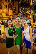 Tuyen Pho Di Bo, Walking Street, Old Quarter, Hanoi, Vietnam, Asia
