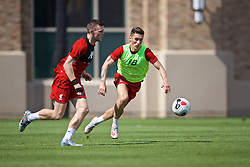 SOUTH BEND, INDIANA, USA - Thursday, July 18, 2019: Liverpool's Harry Wilson during a training session ahead of the friendly match against Borussia Dortmund at the Notre Dame Stadium on day three of the club's pre-season tour of America. (Pic by David Rawcliffe/Propaganda)