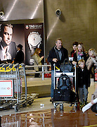 15.JANUARY.2013. LONDON<br /> <br /> PLEASE HIDE THE CHILDREN'S FACE PRIOR TO PUBLICATION***<br /> <br /> KEVIN COSTNER, HIS WIFE CHRISTINE BAUMGARTNER AND THEIR CHILDREN, ARRIVE AT ROISSY CHARLES DE GAULLE AIRPORT IN PARIS  <br /> <br /> BYLINE: EDBIMAGEARCHIVE.CO.UK<br /> <br /> *THIS IMAGE IS STRICTLY FOR UK NEWSPAPERS AND MAGAZINES ONLY*<br /> *FOR WORLD WIDE SALES AND WEB USE PLEASE CONTACT EDBIMAGEARCHIVE - 0208 954 5968*