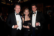 DAVID CLARKE; JURGA ZILINSKIENE; SIR TIMOTHY AKROYD Charity Dinner in aid of Caring for Courage The Royal Scots Dragoon Guards Afganistan Welfare Appeal. In the presence of the Duke of Kent. The Royal Hospital, Chaelsea. London. 20 October 2011. <br /> <br />  , -DO NOT ARCHIVE-© Copyright Photograph by Dafydd Jones. 248 Clapham Rd. London SW9 0PZ. Tel 0207 820 0771. www.dafjones.com.
