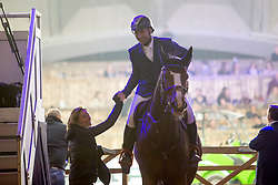 Dunon Gilles, BEL, Fou de Toi vd Keihoeve<br /> Jumping Mechelen 2018<br /> © Hippo Foto - Sharon Vandeput<br /> 26/12/18