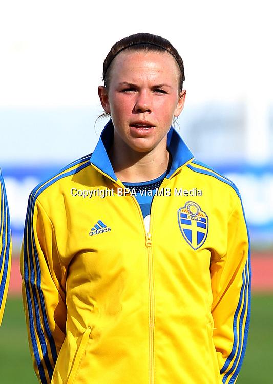 Fifa Womans World Cup Canada 2015 - Preview //<br /> Algarve Cup 2015 Tournament ( Vila Real San Antonio Sport Complex - Portugal ) - <br /> Germany vs Sweden 2-4   -  Jessica Samuelsson of Sweden