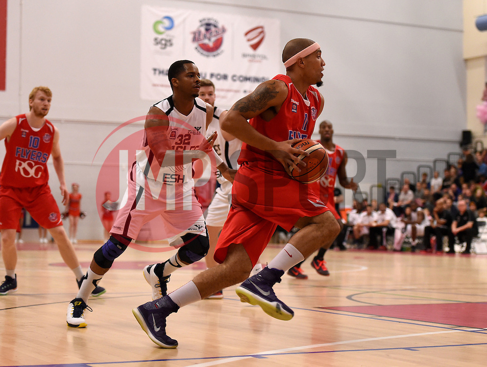 Greg Streete of Bristol Flyers  - Photo mandatory by-line: Joe Meredith/JMP - Mobile: 07966 386802 - 10/10/2015 - BASKETBALL - SGS Wise Arena - Bristol, England - Bristol Flyers v Newcastle Eagles - British Basketball League
