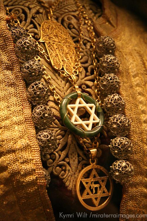 Europe, Spain, Toledo. Ceremonial Sephardi jewish adornment worn for weddings.