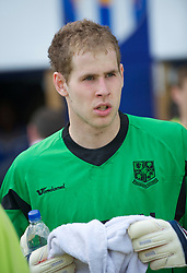 COLCHESTER, ENGLAND - Saturday, April 24, 2010: Tranmere Rovers' goalkeeper Peter Gulasci during the Football League One match at the Western Community Stadium. (Photo by Gareth Davies/Propaganda)