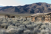 Garlock Ghost Town, Kern County, California. (California Historical Landmark #671)