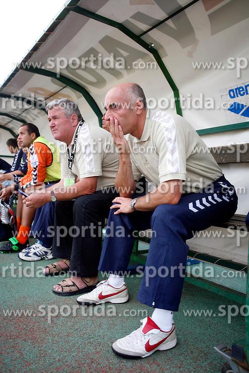 Football coach of NK Factor Milos Rus, 2006, in Ljubljana, Slovenia.   (Photo by Vid Ponikvar / Sportida)