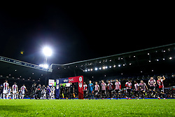 West Bromwich Albion and Brentford walk out to face each other at The Hawthorns - Mandatory by-line: Robbie Stephenson/JMP - 03/12/2018 - FOOTBALL - The Hawthorns - West Bromwich, England - West Bromwich Albion v Brentford - Sky Bet Championship