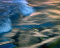 Slate River Abstraction, Crested Butte, Colorado
