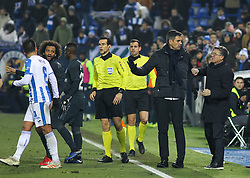 January 16, 2019 - Leganes, Madrid, Spain - Pellegrino of Leganes in action during the King Spanish championship, , football match between Leganes and Real Madrid on January 16th at Butarque Stadium in Leganes, Madrid, Spain. (Credit Image: © AFP7 via ZUMA Wire)