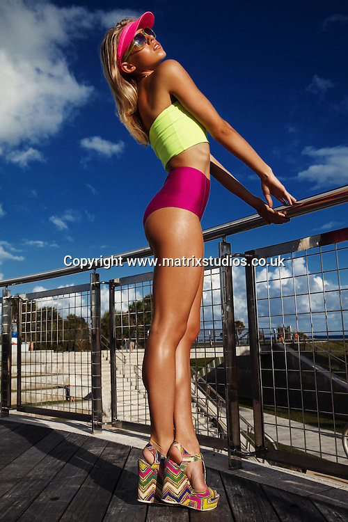 EXCLUSIVE PICTURE: MATRIXSTUDIOS.CO.UK.PLEASE CREDIT ON ALL USES..WORLD RIGHTS...***FEES TO BE AGREED BEFORE USE***..Melanie Ribbe location shoot..REF: MRA 122970