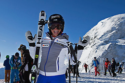 23.10.2015, Rettenbachferner, Soelden, AUT, FIS Weltcup Ski Alpin, Soelden, Vorbereitung, im Bild Lara Gut (SUI) waehrend dem Training // during preparation to FIS Ski Alpine World Cup at the Rettenbachferner in Soelden, Austria on 2015/10/23. EXPA Pictures © 2015, PhotoCredit: EXPA/ Freshfocus/ Christian Pfander<br /> <br /> *****ATTENTION - for AUT, SLO, CRO, SRB, BIH, MAZ only*****