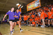 Milpitas High School seniors compete in the three-legged race during the annual Trojan Olympics, where students compete in various unorthodox events for class bragging rights, at Milpitas High School in Milpitas, California, on March 27, 2015. (Stan Olszewski/SOSKIphoto)