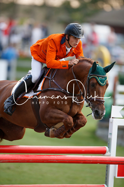Van Grunsven Jens, NED, Cika<br /> Young Riders European Championships Jumping <br /> Samorin 2017&copy; Hippo Foto - Dirk Caremans<br /> 11/08/2017