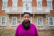 Alea Adigweme at her home Tuesday, March 20, 2018, in Iowa City, Iowa. Scott Morgan for NBC News
