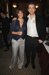Artist TRACEY EMIN and SCOTT DOUGLAS at a reception for the third NSPCC Hall of Fame Awards Ceremony in the Members Dining Room, The House of Commons, London on 15th May 2007.<br />