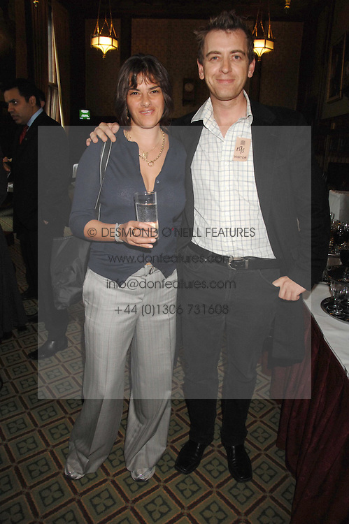 Artist TRACEY EMIN and SCOTT DOUGLAS at a reception for the third NSPCC Hall of Fame Awards Ceremony in the Members Dining Room, The House of Commons, London on 15th May 2007.<br /><br />NON EXCLUSIVE - WORLD RIGHTS